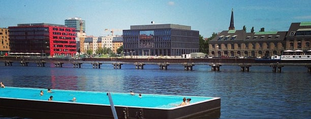 Badeschiff Berlin is one of Berlin, Germany.
