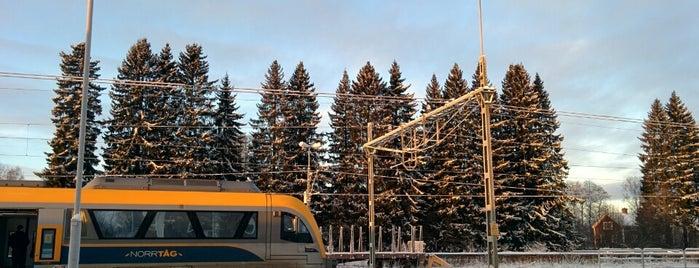 Vindeln Station is one of Tågstationer - Sverige.