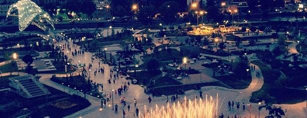 Rike Park | რიყის პარკი is one of Must see ,visit ,taste etc by Ceda.