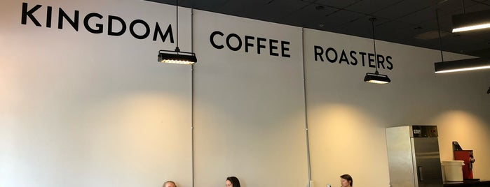 Kingdom Coffee Roasters is one of To drink California.