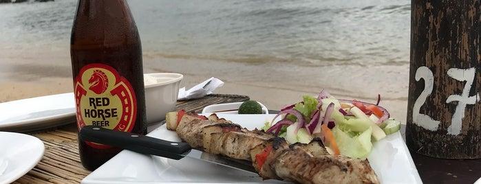 Las Cabañas Beach Resort and Restaurant is one of Filipinler-Manila ve Palawan Gezilecek Yerler.