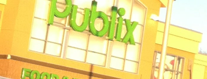 Publix is one of places.