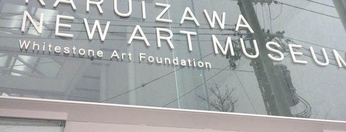 Karuizawa New Art Museum is one of Jpn_Museums2.