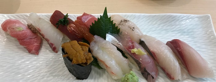 Sushi Shin 鮨辰日本料理 is one of Travel : Hong Kong.