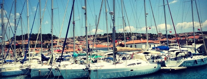 Çeşme Marina is one of SEFER 2014/ 33 GÜN.