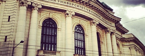 "Софийски университет ""Св. Климент Охридски"" (Sofia University ""St. Kliment Ohridski"") is one of Education places."