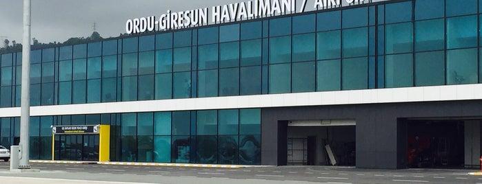 Ordu - Giresun Havalimanı (OGU) is one of ISTANBUL,TÜRKİYE.