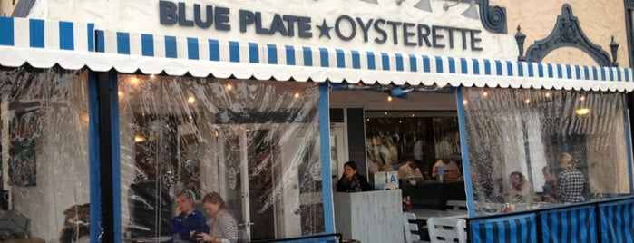 Blue Plate Oysterette is one of favorite.