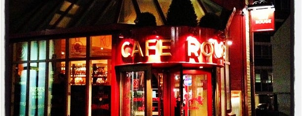 Café Rouge is one of London food.
