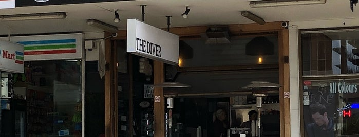 The Diver Cafe is one of Sydney.