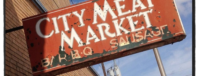 City Meat Market is one of BBQ Joints in Texas.