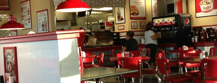 Freddy's Frozen Custard & Steakburgers is one of Favorite places.