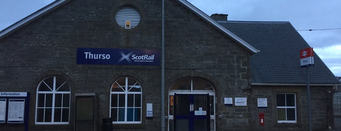 Thurso Railway Station (THS) is one of My favourite railway stations.