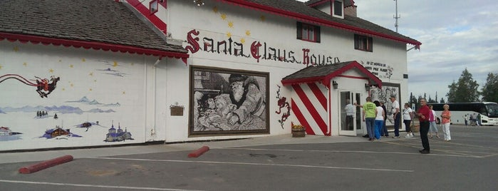 Santa Claus House is one of Alaska.