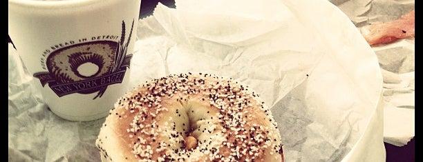 New York Bagel Baking Co is one of Michigan Breakfast.