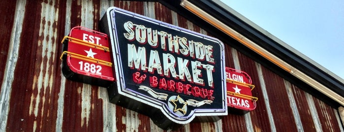 Southside Market & BBQ is one of Texas.