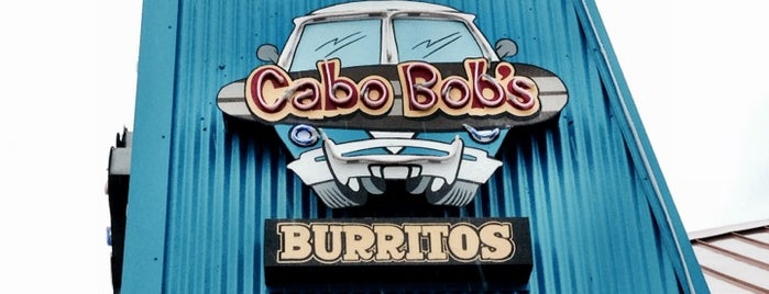 Cabo Bob's is one of Favorites.