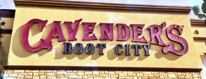 Cavender's Boot City is one of Hidden City.