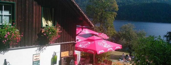 Jausenstation Kahlseneck is one of der tisch.