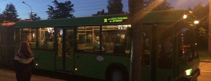 Остановка «Улица Орловская» is one of Минск: автобусные/троллейбусные остановки [2].
