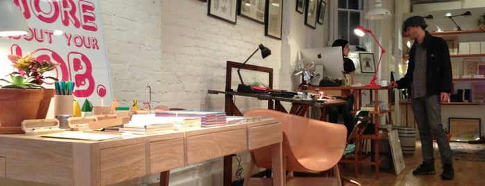 McNally Jackson Store: Goods For The Study - New York