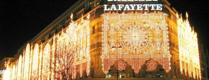 Galeries Lafayette Maison is one of Paris boutique and malls.