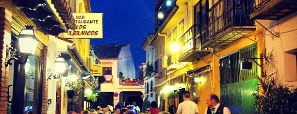 Los Abanicos is one of Restaurantes Malaga.