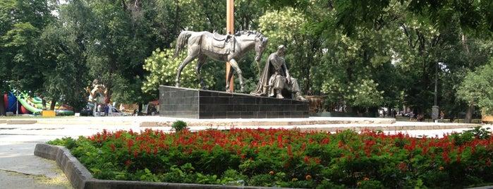 Старобазарный сквер / Starobazarny square is one of Odessa.