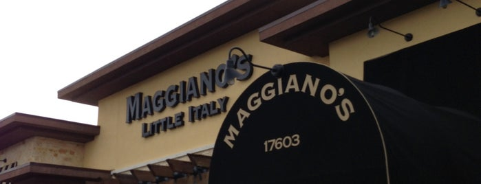 Maggiano's Little Italy is one of San Antonio Eats.