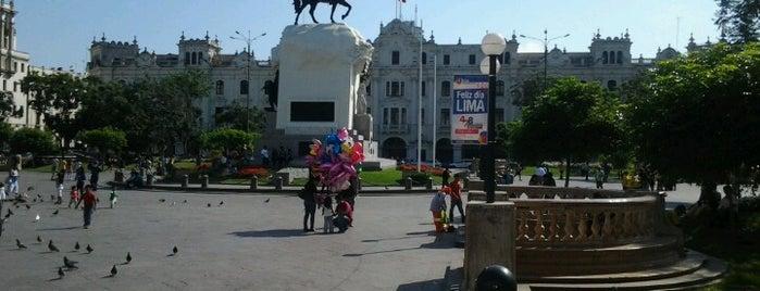 Plaza San Martín is one of Perú.