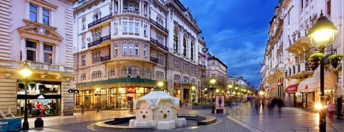 Knez Mihailova is one of places.
