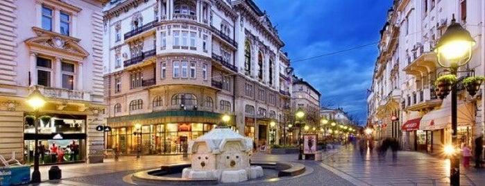 Knez Mihailova is one of Belgrad.
