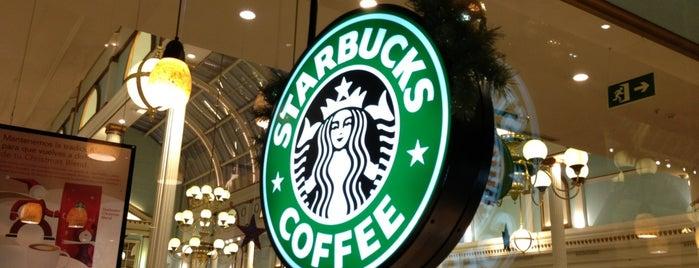 Starbucks Coffee is one of Lo  Mejor.