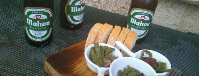 Bodega La Alegría is one of Madrid sin gluten.