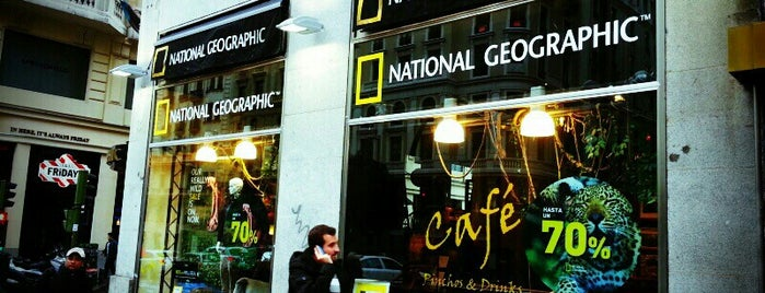 National Geographic Madrid Store is one of AUnaMilla.