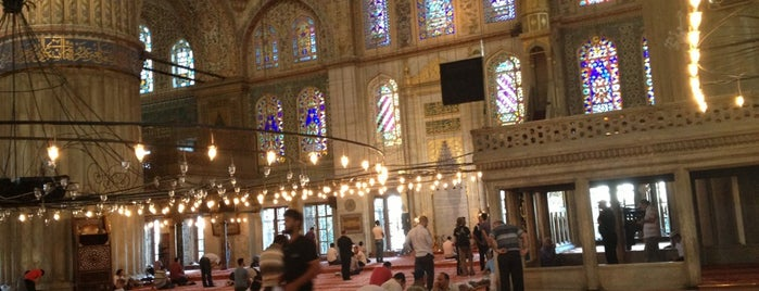 Sultan Ahmet Camii is one of İstanbul.