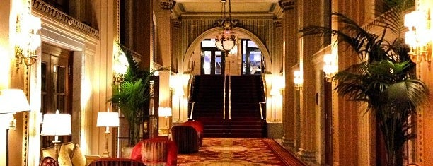 The Willard InterContinental Washington D.C. Hotel is one of Historic Hotels to Visit.