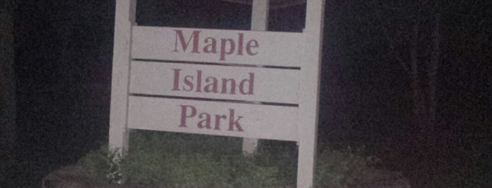 Maple Island Park is one of Little Falls, MN.