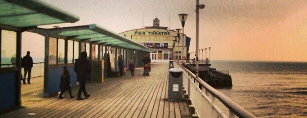 Bournemouth Pier is one of Shelbyart's Favourite Places.