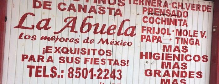 Tacos de canasta La abuela (matriz) is one of Mexico City.