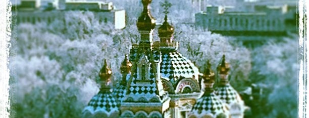 Вознесенский собор / The Ascension Cathedral is one of Алма-Ата.