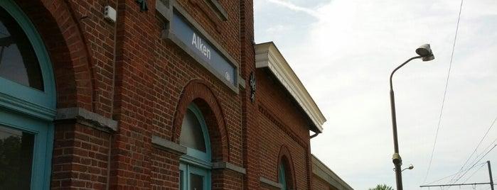 Station Alken is one of Bijna alle treinstations in Vlaanderen.