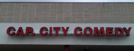 Capitol City Comedy Club is one of Austin.