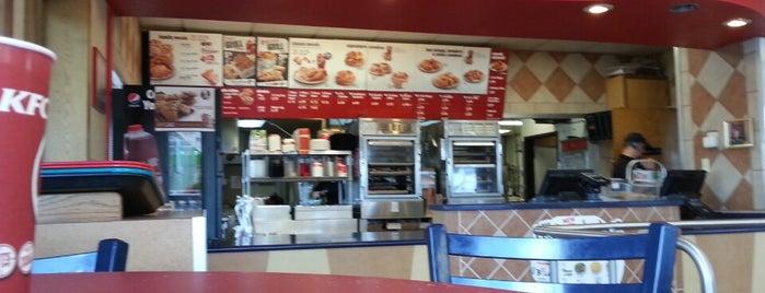KFC is one of Favorites.