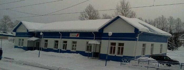 Ж/д станция Танхой is one of Транссибирская магистраль.