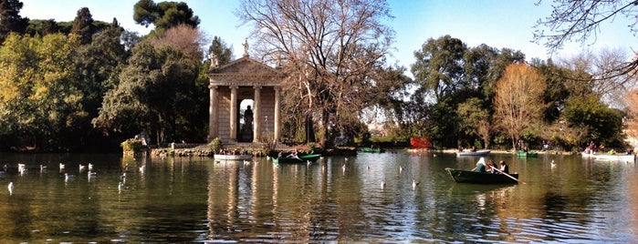 Villa Borghese is one of Rom.