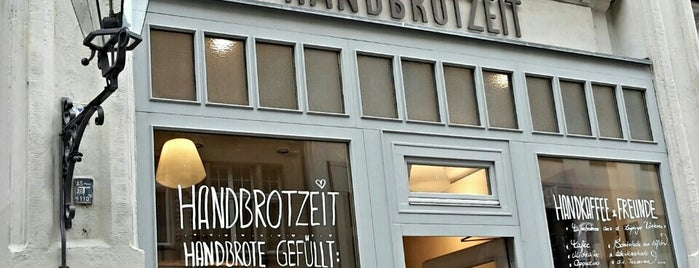 Handbrotzeit is one of Must visit places in Leipzig.