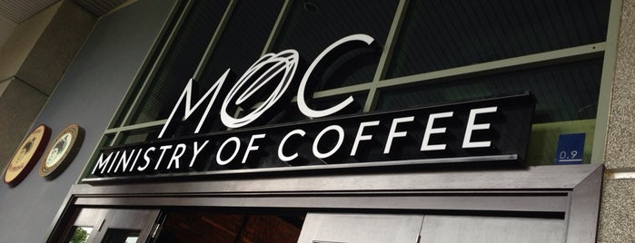Ministry of Coffee (MoC) is one of Coffee places.
