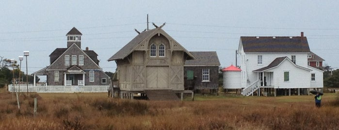Chicamacomico Life-Saving Station is one of Outter Banks, NC.