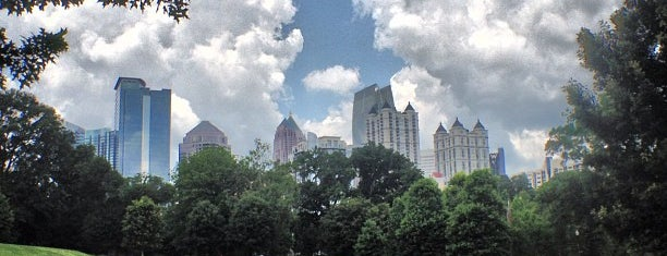Piedmont Park is one of See Atlanta.